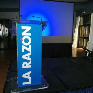 equipo audiovisual para eventos