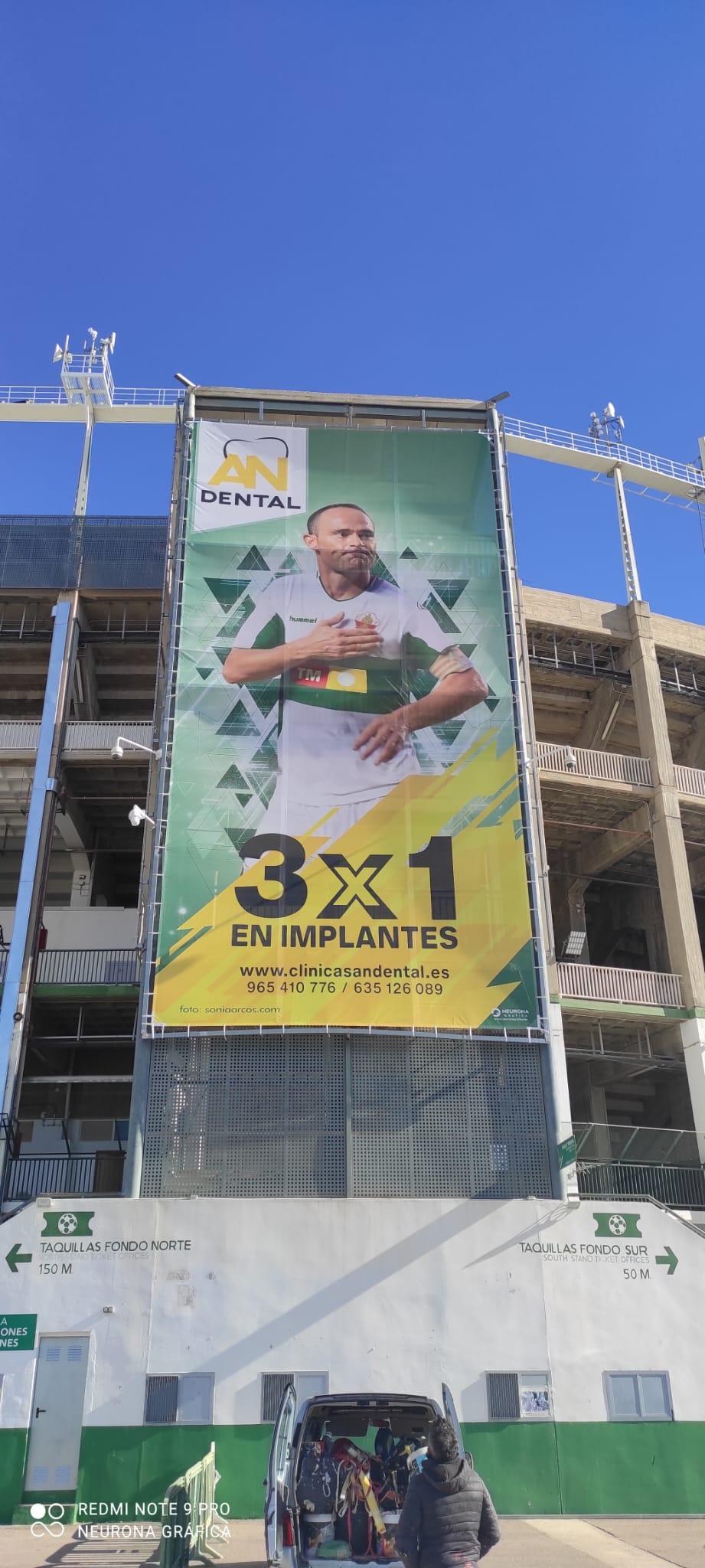 Lona Estadio Elche